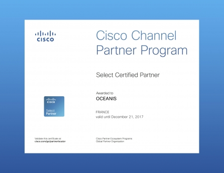 Certification Cisco Select