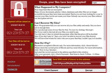 Page WannaCry